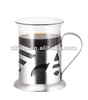 High Quality Fashion Design Coffee Plunger Tea Mug Gl