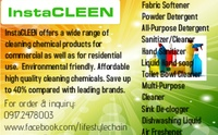 InstaCLEEN Chemical cleaning products