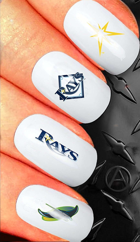 Buy Nail Art waterslide decal design set - American League Baseball ...
