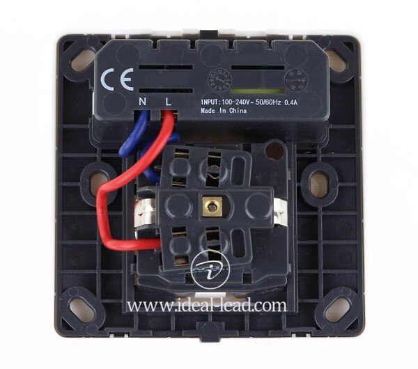 5V 2.1A EU Wall Socket with USB Port and switch 1 -16