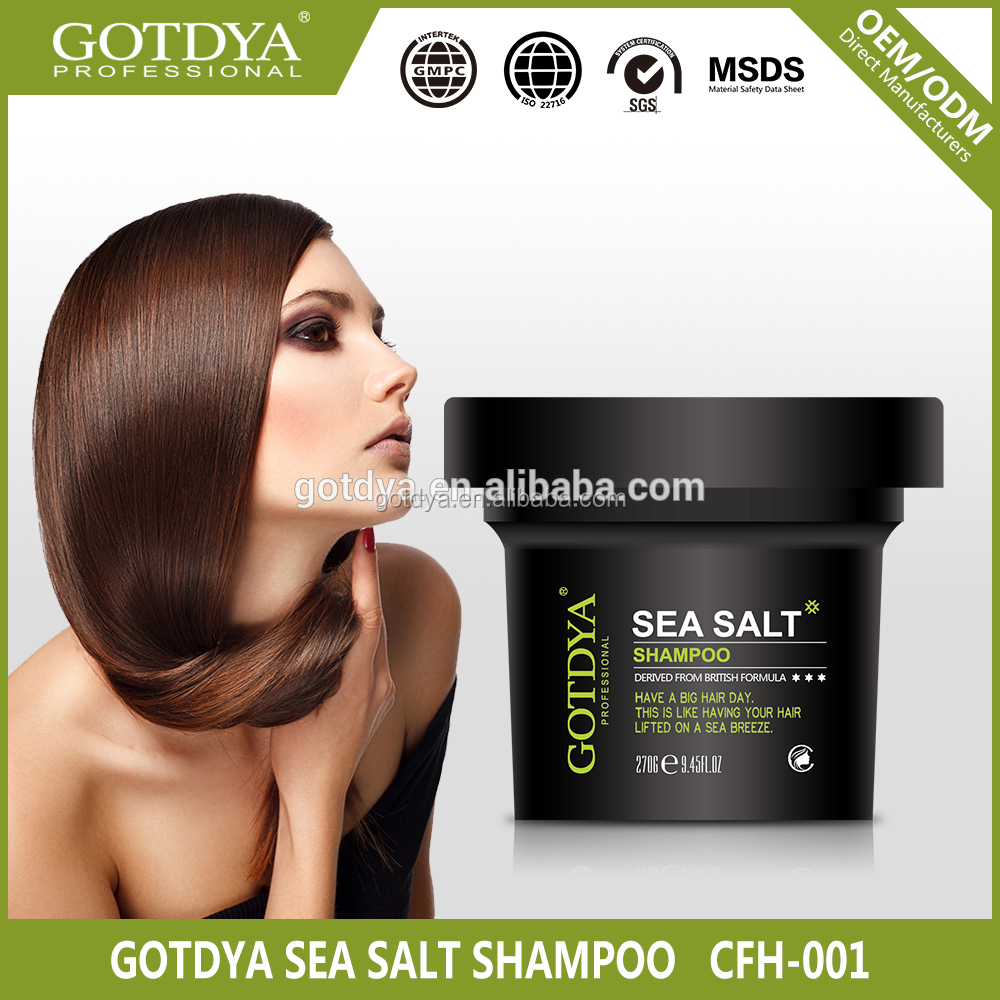 270g good quality sea salt hair care shampoo oem factory