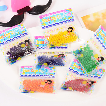 Factory Supply Crystal Soil Water Orbeez Gel Beads