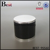 black metal zamac perfume bottle cap for perfume bottles free sample alibaba