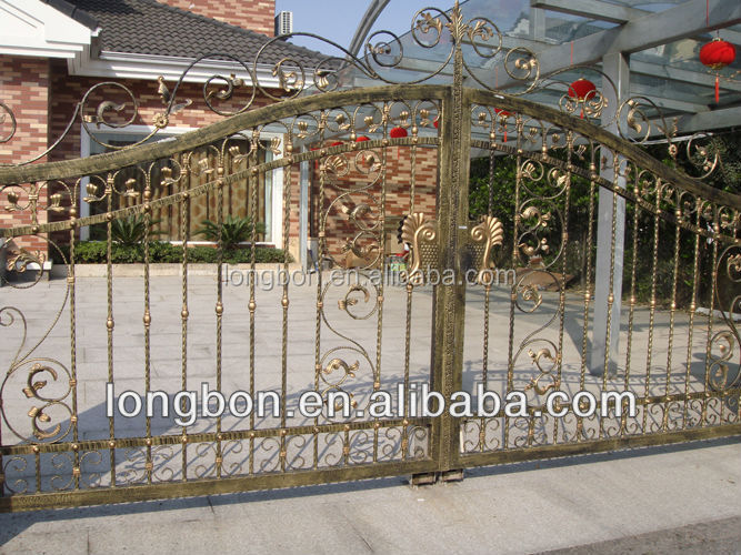 2015 Top-selling wonderful new design iron gate