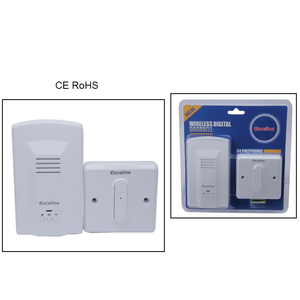 BX-W021 64Chord 12V/23ADC 200M ABS Plastic Long Range Wireless Doorbell