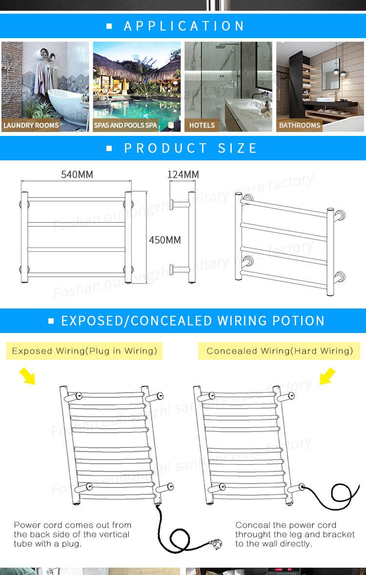 Dry Heating Towel Warmerbathroom Small Electric Rail Wiring Diagram Bathroom Heater Warmer