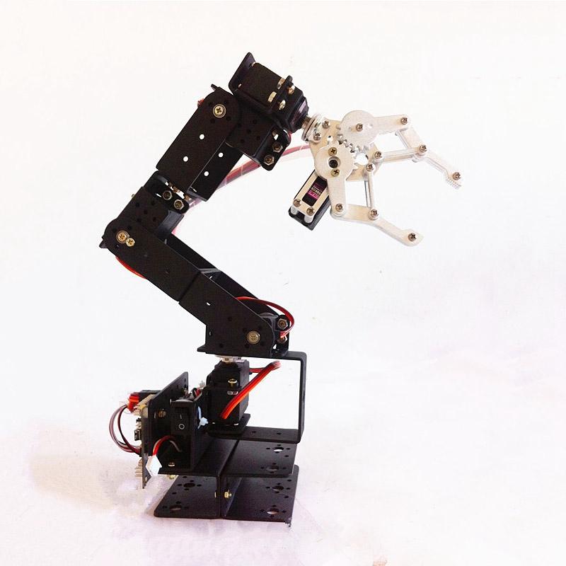Diy Robot Kit 6 Degrees Of Freedom Robotic Arm Full Three Dimensional Rotating Equipment Experimental Platform Buy Diy Robot Kit Experimental
