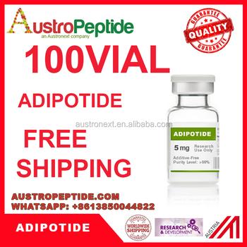 100 Vials Weight Loss Peptides Adipotide 5mg Free Shipping - Buy Adipotide  Hgh19aa Hgh 10iu Weight Loss Peptide T3 Peptide Hgh 191aa Somatropin Hcg