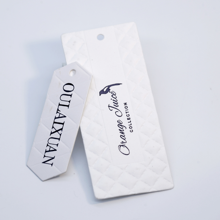 New Design Professional Custom Shaped Clothing Hang Tag
