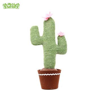 15quot Wholesale Handmade Popular Pot Christmas Plant Home Decor Decorative Indoor Cactus Artificial Plants