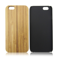 For iPhone6 plus 100% natural bamboo mobile phone case, wholesale blank wood pc back cover for iPhone 6