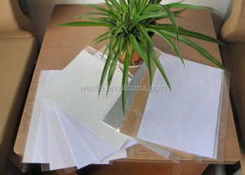 0 17mm white pvc card materials with glue card making pvc inkjet