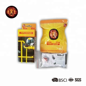 BSCI, ISO, CE certificated Rapid Fix Ultra Strong Powder Repair Kit fiberglass fast repair tape