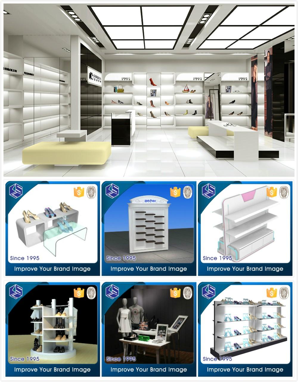 Online Shop Showroom Interior Design Fancy Shoes Shop Interior