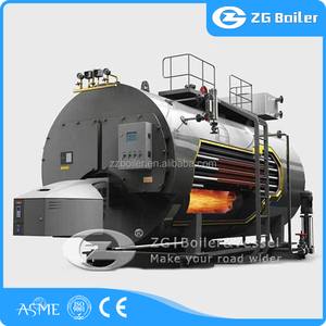 ISO9001, ASME, CE, IBR boiler 15 hp 15 psi steam horizontal gas