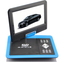 100% Foto reali Del Prodotto 9.8 pollice DVD <span class=keywords><strong>Portatile</strong></span> VCD <span class=keywords><strong>CD</strong></span> EVD MP3 MP4 Player + TV