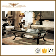 Sectional set EU style wooden sofa furniture living room