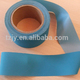 blue flexible polyester reflective material fabric /tape