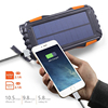 Sport Equipment Solar Charger SOS LED 100000 mah Power Bank