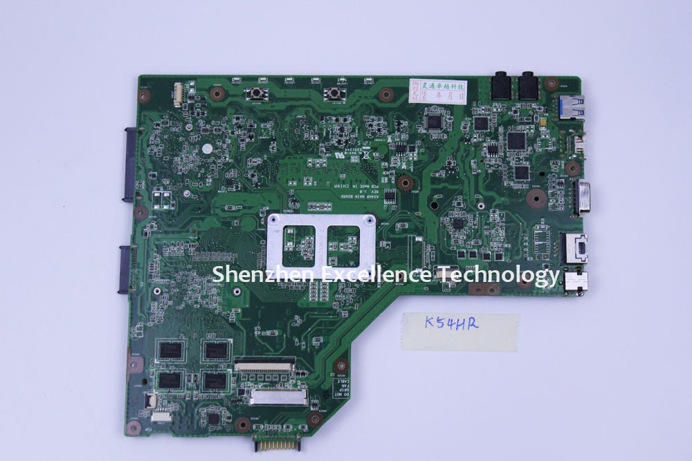 Top Quanlity For Asus X54H X54HR Laptop motherboard K54HR