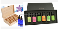 Factory supply 100% natual blend 6 set 10ml organic bulk essential oils gift set with free sample