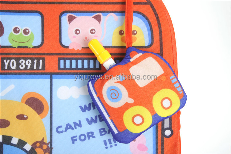 3d cartoon drawing board educational toys children 3d cartoon bag two in one musical water