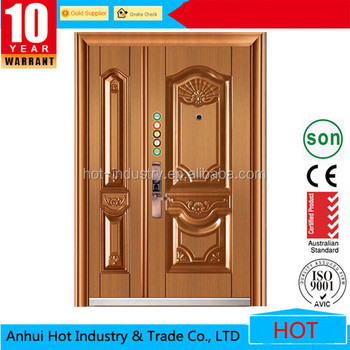 Best Price One And Half Door Leaf Entry Doors High Quality Double