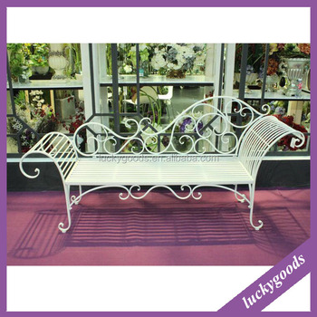Popular Selling Antique Wrought Iron Chairs For Indoor Outdoor Decoration