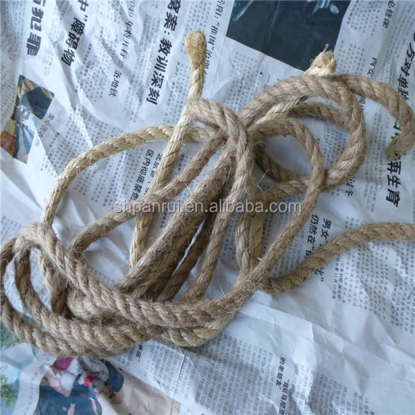 Jute packing rope linen yarn string price hemp cord decoration construction