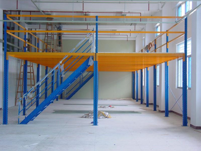 Structure En Acier Plate Forme Pour Industrielle
