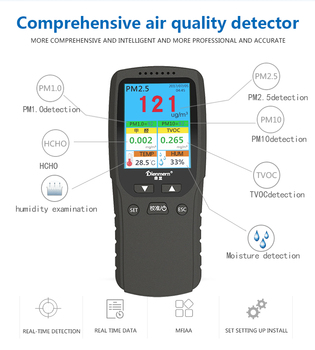 Multi function Air Quality Detector