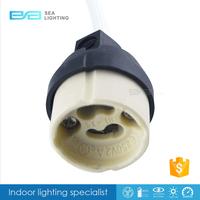 Led GU10 Socket Ceramic Bulb Halogen Lamp Wire Connector Holder Base