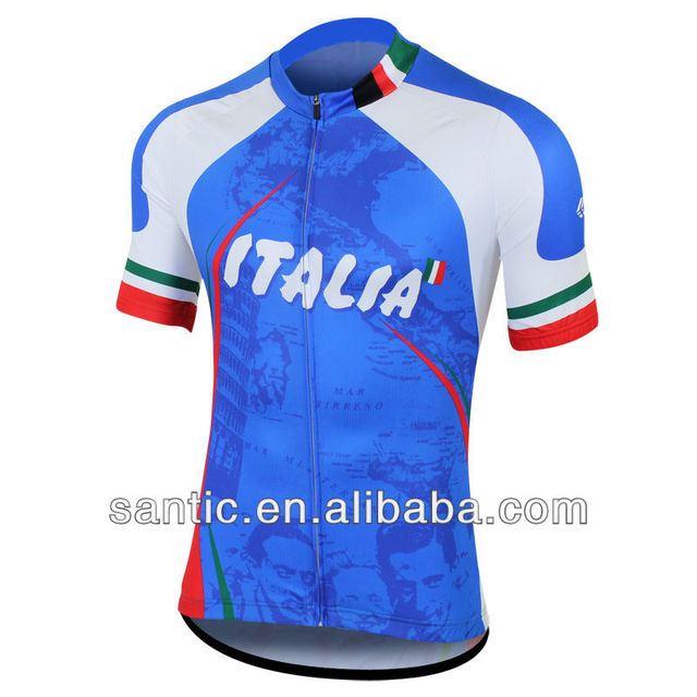 In stock hot sale cycling sublimation jersey