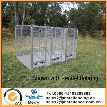 4 X 8 X6 Multiple Modular Welded Wire Professional Kennel Dog Run With Flooring Buy Multiple Modular Welded Wire Kennel 4 X 8 X6 Professional