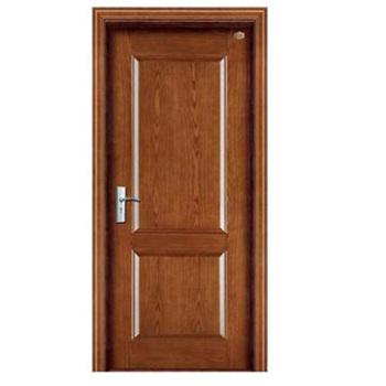 Nice Design Steel Wooden Interior Door Exterior 2 Panel Solid Core