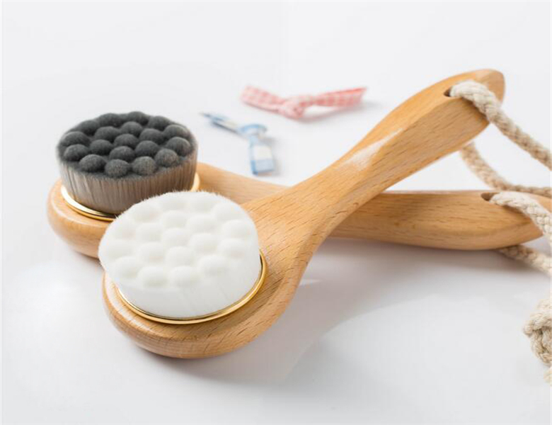 Affordable Simplicity Delicacy Comfort wooden detachable Bath Body brush
