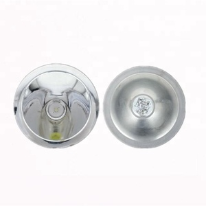 aluminum Led flashlight/torch reflector cover