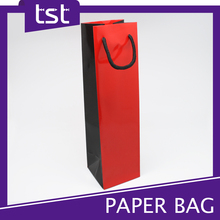 Customized Printed Wine Bottle Paper Bag