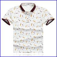 2015 fashion costume mens 50 cotton 50 polyester wholesale t shirts thailand