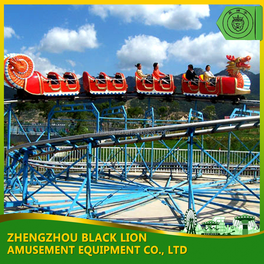 Best Price Theme Park Amusement Sliding Dragon For Sale With Good Quality