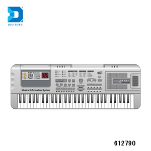 USB Support piano keyboard for PC musicAL instrument 61 KEYS plastic piano  keyboard