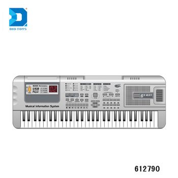 Usb Support Piano Keyboard For Pc Musical Instrument 61 Keys Plastic Piano  Keyboard - Buy Music Instrument,61 Keys Keyboard Piano,Usb Piano Keyboard