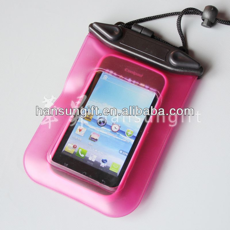 EVA/PVC/ TPU recycling waterproof bag for mobile phone