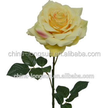 Lsd 1611251964 Silk Wedding Flowers Single Long Stem Artificial Rose