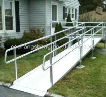 Aluminum Handicap Stair Rails