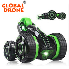 MEKBAO 5588-602 Racing Remote Control 5 wheels rc monster truck 3D flip and Stunt Spinning Buggy Flips Toy RC Car toy for kids