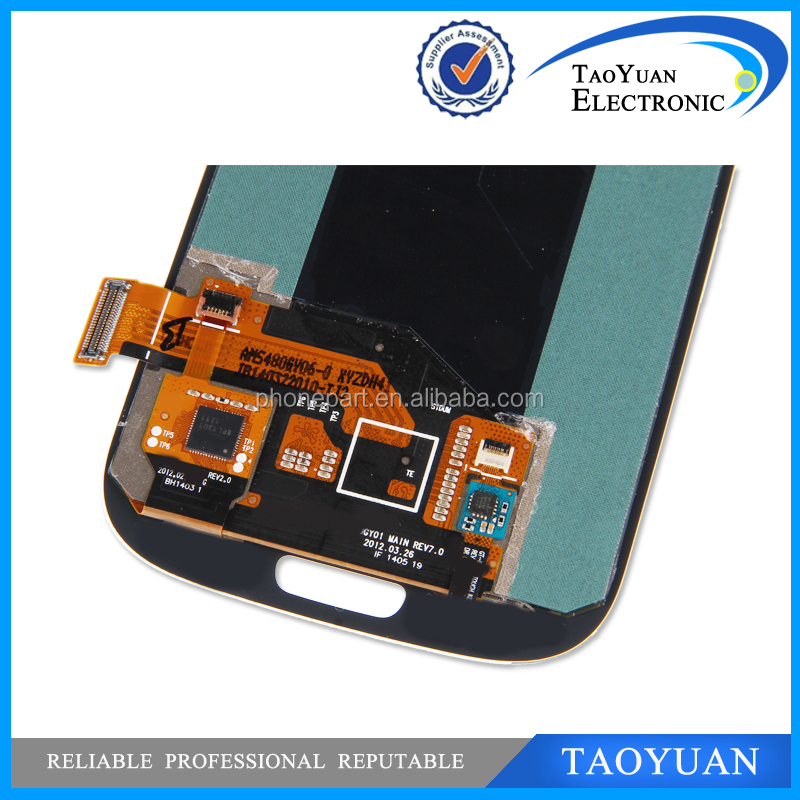 Taoyuan OEM full original lcd display for samsung s3(i9300), For S3 LCD