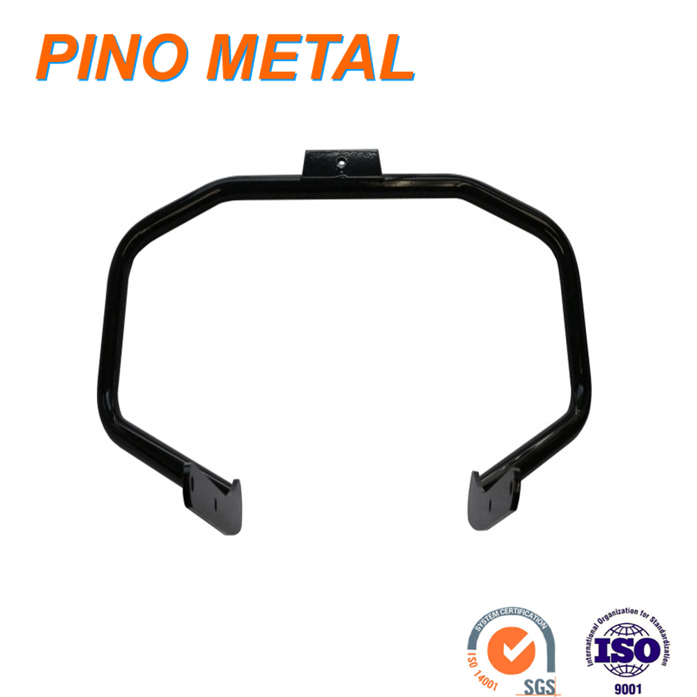 Motorcycle engine guard for motorcycle accessories
