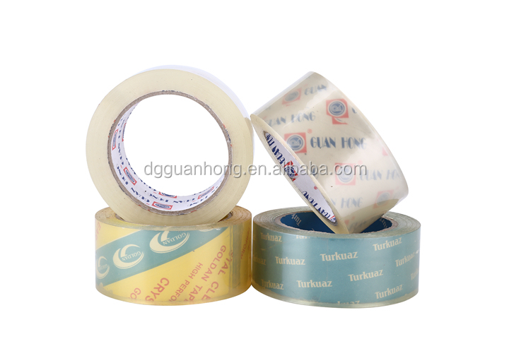 Super Clear/Crystal Clear BOPP Carton Sealing Tape with Logo