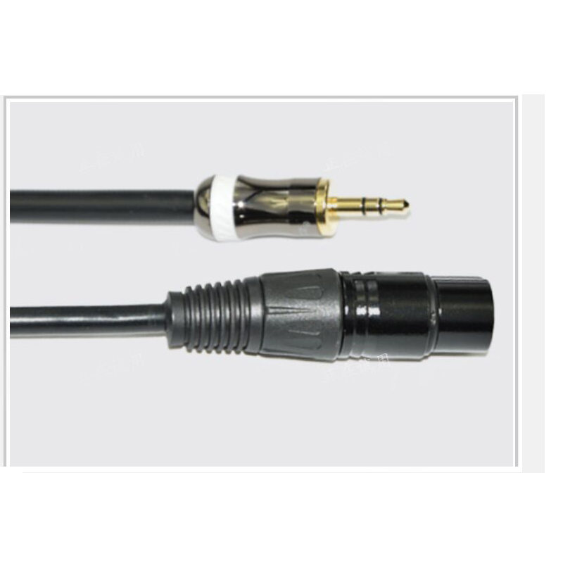 Wholesale High quality 3.5 microphone cable 3.5mm to xlr audio cable Single card farm cable